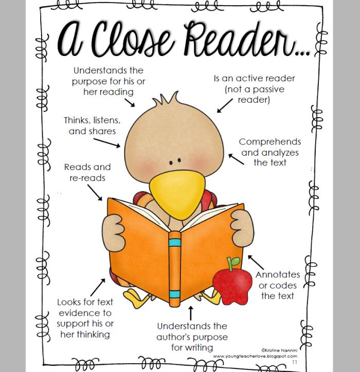 a close reader...