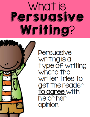 What is persusaive writing