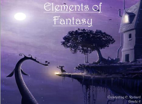 elements of fantasy