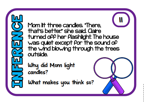 inference task card