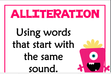 allitertaion