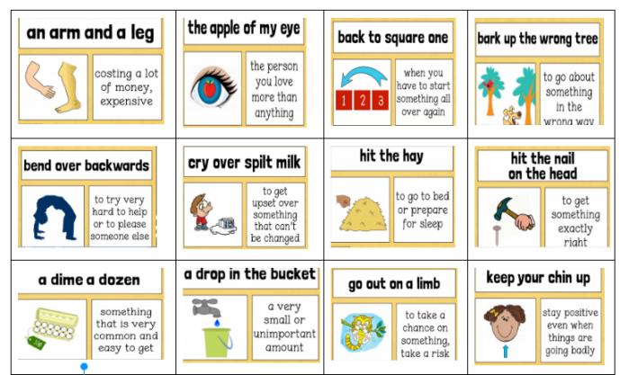 idioms 3